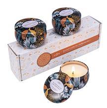 Bild zu Anjou Duftkerzen Geschenkset in den Düften  Vanille, Weihnachtsholz und frischem Wind (3x60g) für 10,99€