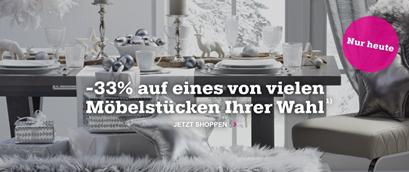 Bild zu Nur heute: 33% Rabatt auf ein Möbelstück eurer Wahl bei Mömax