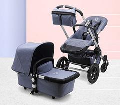 Bild zu Bugaboo Cameleon3 Fresh Collection Kinderwagen Blue Melange für 561,99€ (Vergleich: 839,40€)