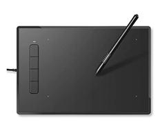 Bild zu INTEY 9x6Zoll Grafiktablett/Zeichentablett mit Digital-Stift für 42,99€