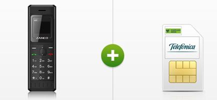 Bild zu Zanco Handy für einmalig 4,95€ inkl. o2 Smart Surf (1GB LTE, 50 Freiminuten + 50 Frei SMS) für 3,99€/Monat