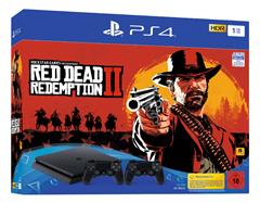 Bild zu Sony PlayStation 4 (PS4) Slim 1TB + Red Dead Redemption 2 + 2. Controller für 283,99€ (Vergleich: 399€)