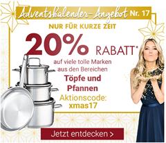 Bild zu Karstadt: 20% Rabatt auf Töpfe & Pfannen