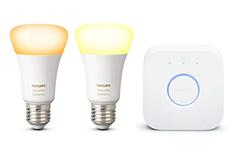 Bild zu Amazon.fr: Philips Hue White Ambiance E27 LED Lampe Starter Set inkl. Bridge für 63,98€ (Vergleich: 79,88€)