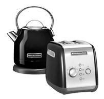 Bild zu KitchenAid Frühstücksset (Toaster + Wasserkocher) für je 99€ (Vergleich: 169,89€)
