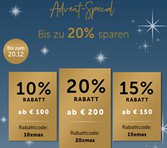 Bild zu Christ: bis zu 20% Extra Rabatt auf (fast) alles (abhängig vom Bestellwert)