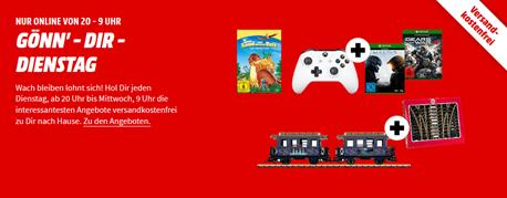 Bild zu MediaMarkt Gönn´ dir Dienstag, z.B. Mario & Luigi: Paper Jam Bros. (3DS) für 17€