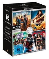 Bild zu DC 5-Film Collection (Limitierte Exklusivedition) (10 Discs) [4K Ultra HD Blu-ray + Blu-ray] für 69€ (Vergleich: 101,98€)
