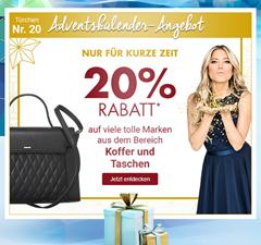 Bild zu Galeria Kaufhof: nur heute 20% Rabatt auf Koffer, Taschen & Kleinlederwaren