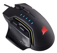 Bild zu [B-Ware] Corsair GLAIVE RGB Gaming Maus (16000 DPI) schwarz für 39,90€ (Vergleich: 73,99€)
