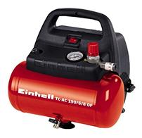 Bild zu Amazon.es: Einhell Druckluft-Kompressor TC-AC 190/6/8 OF (6l, 8 bar) für 79,26€ (Vergleich: 92,53€)