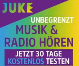 Bild zu JUKE! Musicflat 30 Tage kostenlos testen (Neukunden)