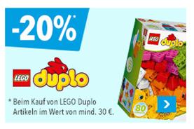 """Bild zu Toys""""R""""Us: 20% Rabatt auf LEGO Duplo (ab 30€ MBW)"""