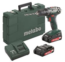 Bild zu Metabo Akku-Bohrschrauber BS 18 18V 2x LiPower-Akkus/Ladegerät im Koffer für 78,30€ (Vergleich: 129,99€)