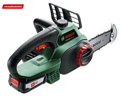 Bild zu Bosch UniversalChain 18V Kettensäge (mit Akku und Ladegerät) für 139€ (Vergleich: 155,77€)
