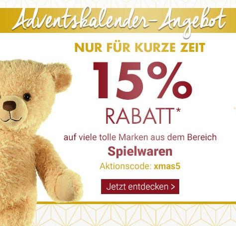 Bild zu Karstadt: 15% Rabatt auf viele Spielwarenartikel