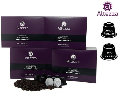 Bild zu 384 Altezza Kaffeekapseln für Nespresso für 45,90€ inkl. Versand (Vergleich: 66€)