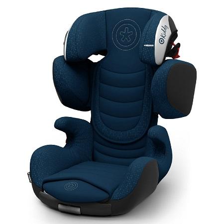 Bild zu Kindersitz Kiddy Cruiserfix 3 Mountain Blue (Gruppe 2/3) für 139,99€ (Vergleich: 159,99€)