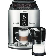 Krups EA829E Silber Kaffee-Vollautomat Milchbehälter 15 bar One-Touch eBay