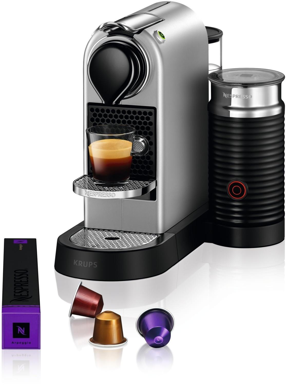 Bild zu Kapselmaschine Krups XN760B Nespresso New CitiZ & Milk für 99€ (Vergleich: 145,94€)