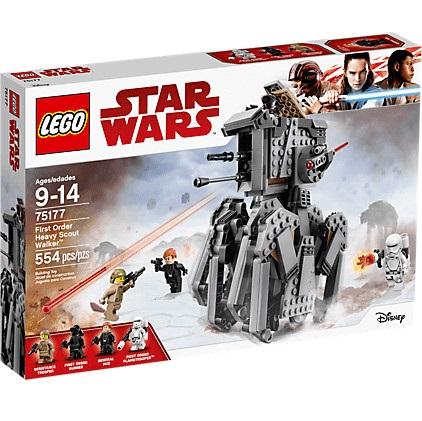 Bild zu Lego Star Wars First Order Heavy Scout Walker (75177) für 32,79€ (Vergleich: 38,48€)