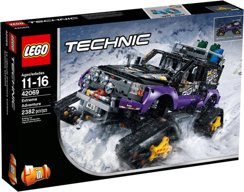 Bild zu Lego Online-Shop: Verschiedene Artikel zu reduzierten Preisen, so z. B. Lego Technic Extremgeländefahrzeug (42069) für 94,49€