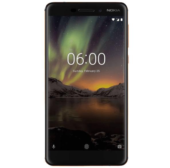 Bild zu Saturn Smartphones zu Purzelpreisen, z.B. 5,5 Zoll Dual-Sim Smartphone Nokia 6.1 (32 GB) für 179€ (Vergleich: 202,14€)