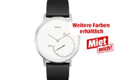 Bild zu NOKIA Activité STEEL Activity Tracker Silikon, 195 mm, Schwarz oder Schwarz/Weiß für je 79€ inkl. Versand (Vergleich: 99€)