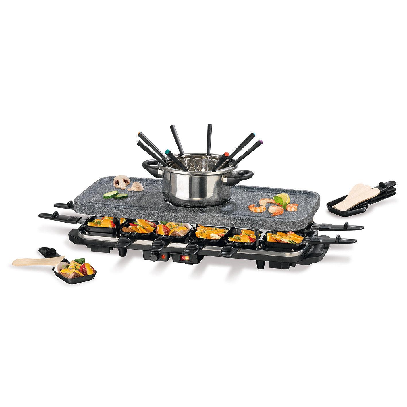 Bild zu GOURMETmaxx Raclette und Fondue Set für 44,99€ (Vergleich: 59,99€)