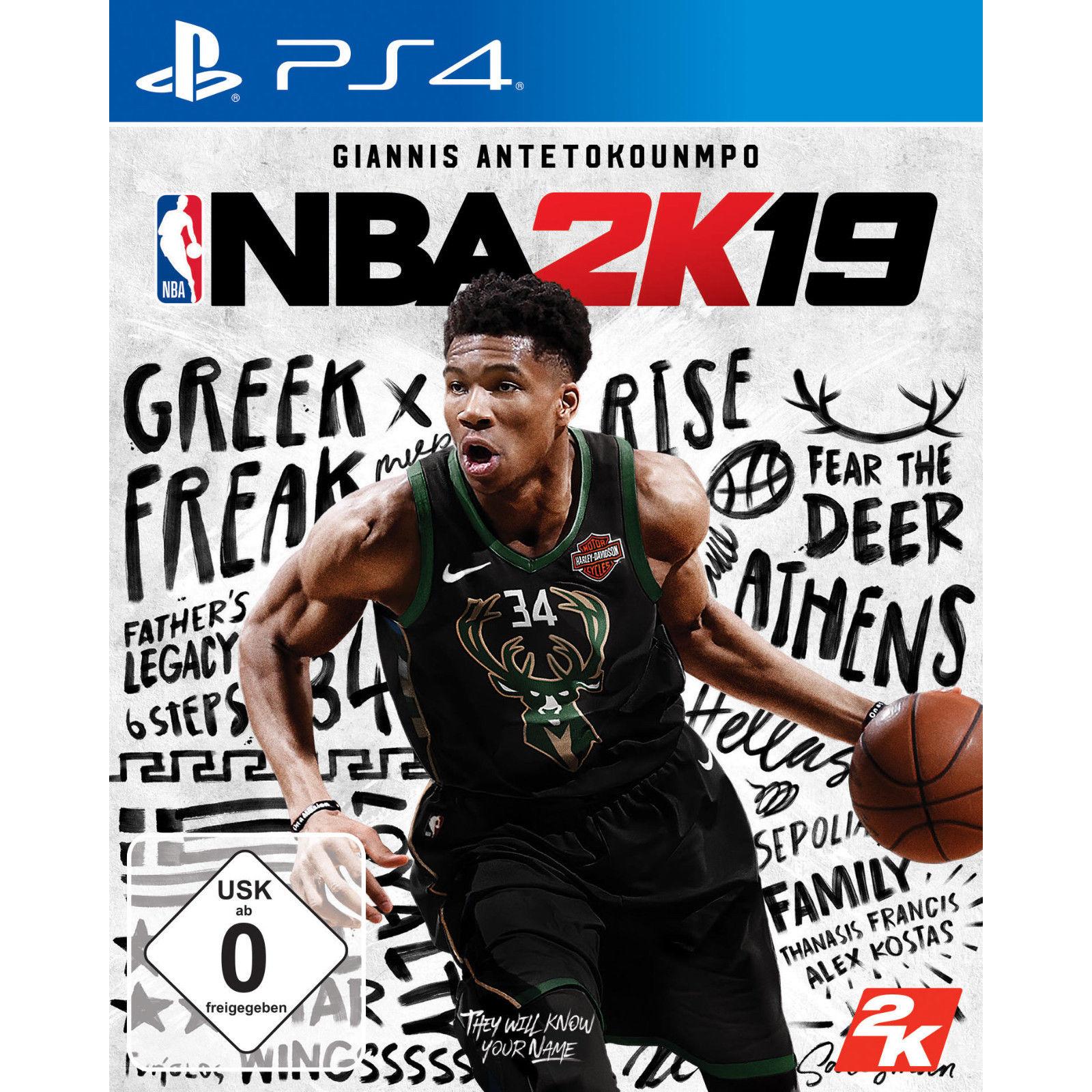 Bild zu NBA 2K19 für die PlayStation 4 für 18€ (Vergleich: 23,42€)