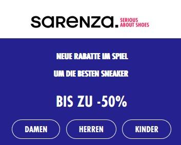 Bild zu Sarenza: Bis zu 50% Rabatt auf mehr als 11.400 Modelle für Damen, Herren und Kinder