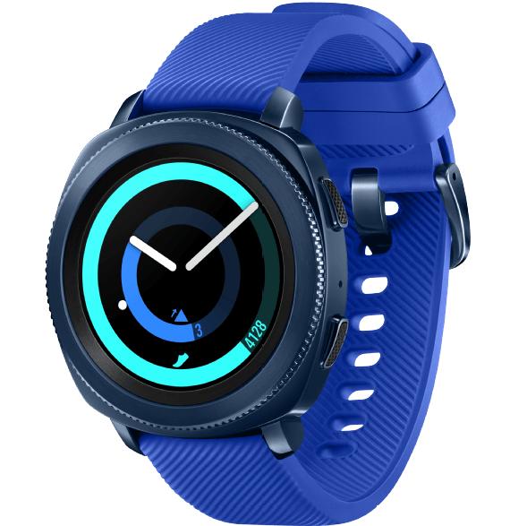 Bild zu Smartwatch Samsung Gear Sport Silikon für 129€ (Vergleich: 167,90€)