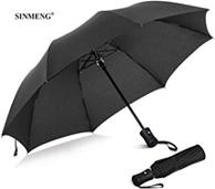 SINMENG Regenschirm Taschenschirm sturmfest bis 140 km h klein stabil automatik reise Schirm Umbrella