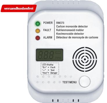 Bild zu SMARTWARES SW RM370 Kohlenmonoxidmelder für 10€ inkl. Versand (Vergleich: 16.99€)