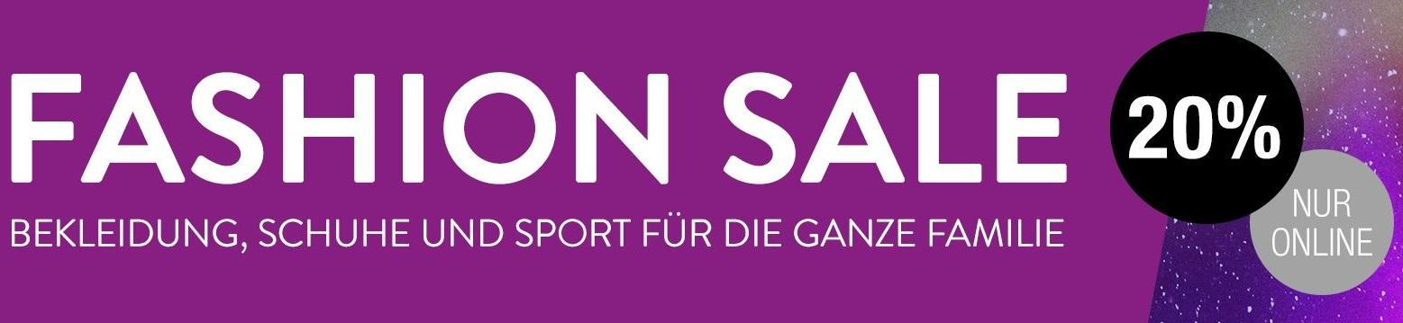Bild zu Galeria Kaufhof: 20% Extra-Rabatt auf bereits reduzierte Modeartikel, Schuhe und Sportbekleidung