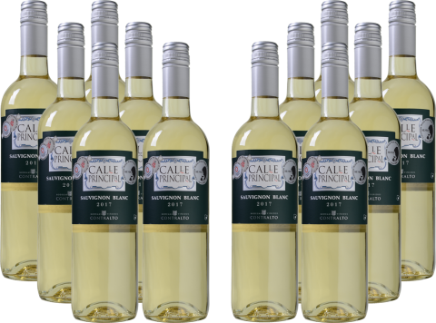 Bild zu Weinvorteil: 12er-Paket Calle Principal – Sauvignon Blanc – Vino de la Tierra Castilla für 39,99€ inkl. Versand