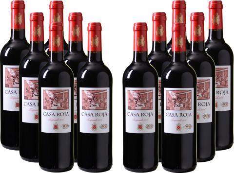 Bild zu 12er-Paket Casa Roja – Tempranillo für 45€ inkl. Versand
