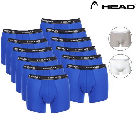 Bild zu 12 Basic Boxershorts von Head für 35,90€ inkl. Versand (Vergleich: 41,99€)