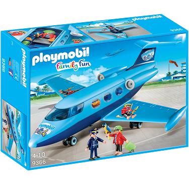 Bild zu Playmobil FunPark-Ferienflieger (9366) für 23,94€ (Vergleich: 39,39€)
