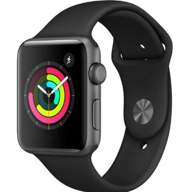 Bild zu [B-Ware] Apple Watch Series 3 42mm Aluminium Smartwatch für 224,91€ inkl. Versand