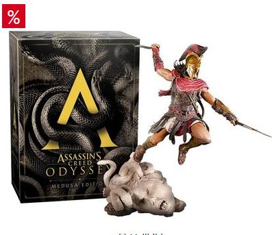 Bild zu Assassins Creed Odyssey Medusa Edition PlayStation 4 für 75,94€ inkl. Versand (Vergleich: 107,67)