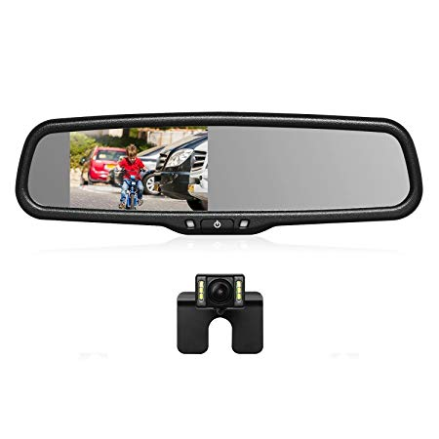 auto vox t2 r ckfahrkamera mit spiegelmonitor f r 100 09. Black Bedroom Furniture Sets. Home Design Ideas