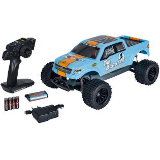 Bild zu RTR Elektro R/C Fahrzeug Carson The Blaster FE für 74,99€ (Vergleich: 85,78€)