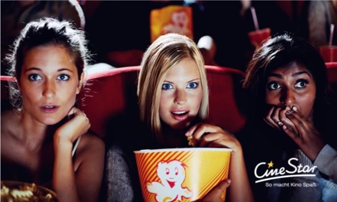Bild zu CineStar Kino-Gutschein für alle 2D-Filme inkl. Zuschlägen + Snack und Getränk für 10€ (Vergleich: 23,95€)