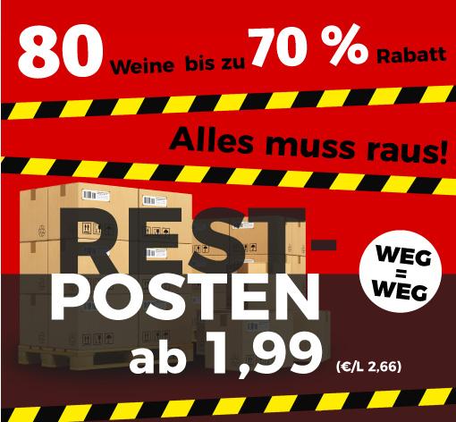 Bild zu Weinvorteil Restposten Sale: 80 Weine stark reduziert, z.B. 6er Paket Huiswijn – Chili Rood für 17,89€ inkl. Versand