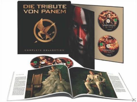 Bild zu Die Tribute von Panem (Limited Complete Collection) [Blu-ray] ab 36,99€ (Vergleich: 51,99€)