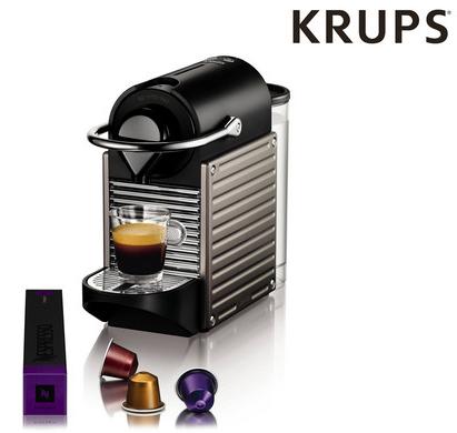Bild zu Krups Nespresso Pixie (XN3005) Kapselmaschine für 75,90€ inkl. Versand (Vergleich: 92,74€)