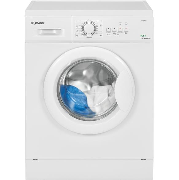 Bild zu 6 kg Waschmaschine Bomann WA 5728 für 169€ (Vergleich: 239,33€)