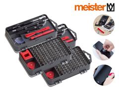 Bild zu 2x Meister Feinmechaniker-Set (Zum Reparieren von Smartphones, Brillen, Uhren usw.) für 25,90€ (Vergleich: 31,89€)