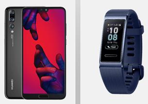 Bild zu Huawei P20 Pro + Huawei Band 3 Pro (einmalig 4,95€) mit Vodafone Smart L+ (Allnet-Flat, SMS Flat, 5GB LTE Datenflat, EU-Flat) für 36,99€/Monat